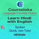 CourseLoka, Learn Hindi with English, Spoken, Quick, Non-Tutor