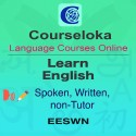 CourseLoka, Learn English, Spoken, Written, non-Tutor