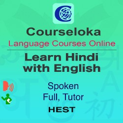 CourseLoka, Learn Hindi with English, Spoken, Tutor
