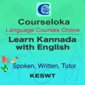 CourseLoka, Learn Kannada with English, Spoken, Written, Tutor